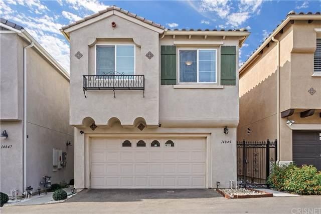 14845 W Castille Way, Sylmar, CA 91342 (#SR21227181) :: Blake Cory Home Selling Team