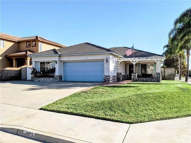 163 Rosewood Drive, Calimesa, CA 92320 (#EV21224593) :: A G Amaya Group Real Estate