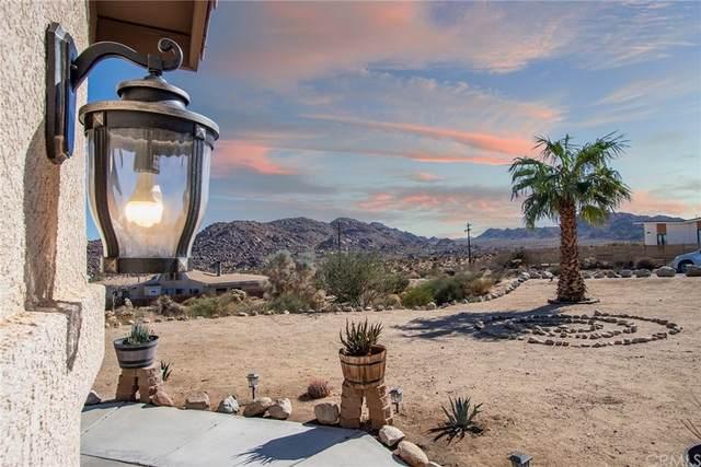 61776 Pueblo, Joshua Tree, CA 92252 (#JT21227711) :: The Laffins Real Estate Team