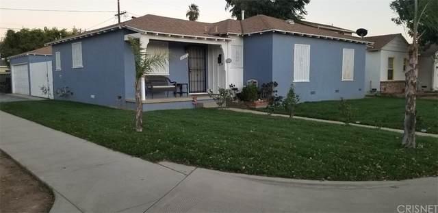 10056 Burnet Avenue, Mission Hills (San Fernando), CA 91345 (#SR21229294) :: The Kohler Group