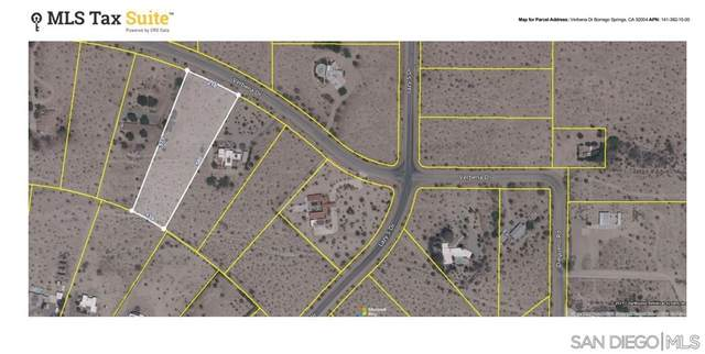 0 Verbena Drive, Borrego Springs, CA 92004 (#210029107) :: RE/MAX Empire Properties