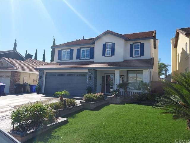 5414 Tenderfoot Drive, Fontana, CA 92336 (#CV21229102) :: Blake Cory Home Selling Team