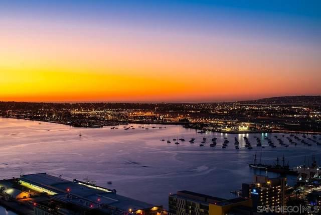 700 W E Street #3802, San Diego, CA 92101 (#210029148) :: Blake Cory Home Selling Team