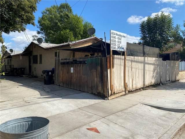 6536 Woodley Avenue, Lake Balboa, CA 91406 (#SR21230506) :: Compass