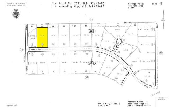 0 Sunny Sands Drive, Joshua Tree, CA 92252 (#219069128DA) :: CENTURY 21 Jordan-Link & Co.