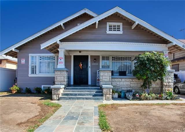 4258 Walton Avenue, Los Angeles (City), CA 90037 (#OC21230362) :: CENTURY 21 Jordan-Link & Co.
