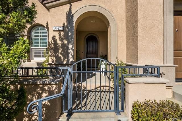 20426 Paseo Altisse, Porter Ranch, CA 91326 (#SR21227187) :: Blake Cory Home Selling Team