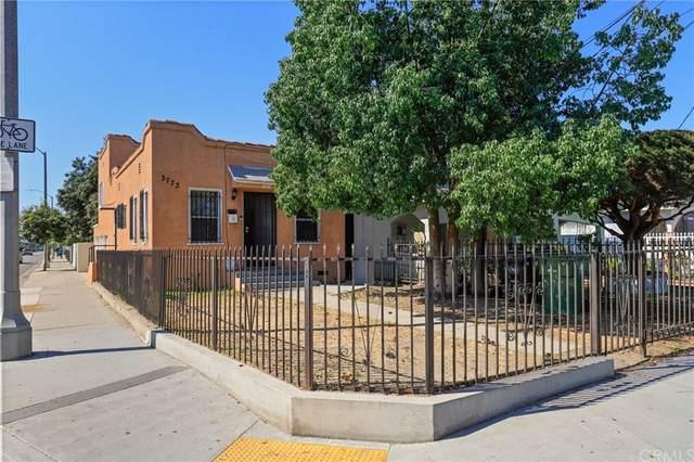 3773 S La Salle Avenue, Los Angeles (City), CA 90018 (#SB21230699) :: CENTURY 21 Jordan-Link & Co.