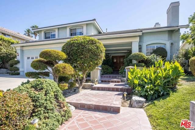 17806 Arvida Drive, Granada Hills, CA 91344 (#21795934) :: Zen Ziejewski and Team