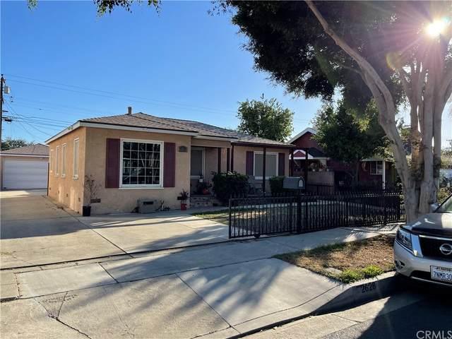 2628 E Van Buren Street, Carson, CA 90810 (#DW21229620) :: RE/MAX Empire Properties