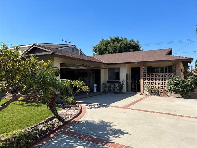 23521 Archibald Avenue, Carson, CA 90745 (#IN21231047) :: Blake Cory Home Selling Team