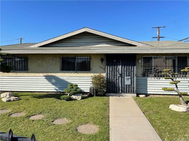 1815 W 150th Street, Gardena, CA 90249 (#SB21224794) :: Latrice Deluna Homes