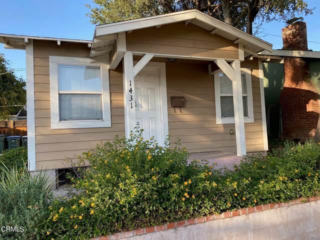 1431 E Howard Street, Pasadena, CA 91104 (#P1-7153) :: RE/MAX Masters