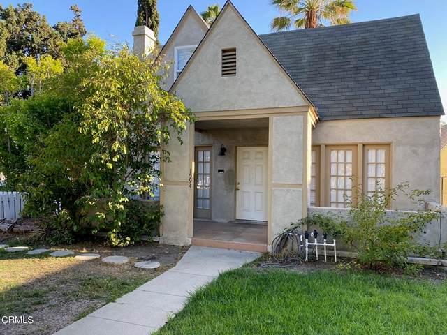 1594 E Howard Street, Pasadena, CA 91104 (#P1-7154) :: RE/MAX Masters