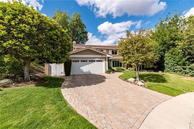 7101 Shadow Ridge Court, West Hills, CA 91307 (#SR21232392) :: The Parsons Team