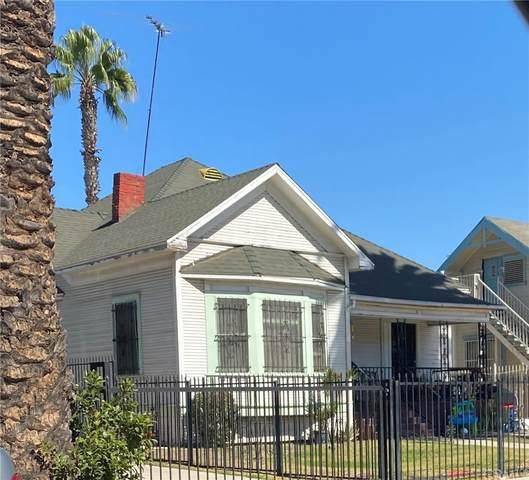 1181 Leighton Avenue, Los Angeles (City), CA 90037 (#CV21231443) :: RE/MAX Freedom