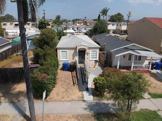 3641 Marlborough Ave, San Diego, CA 92105 (#210029349) :: Cane Real Estate