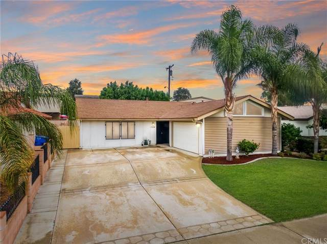 1749 E Rosewood Court, Ontario, CA 91764 (#IV21231136) :: The Laffins Real Estate Team