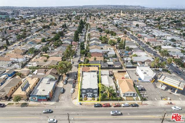 1409 W 55Th Street, Los Angeles (City), CA 90062 (#21792358) :: The Kohler Group