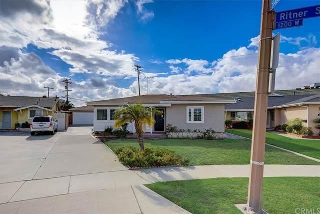 1202 W Ritner Street, Torrance, CA 90502 (#SB21231275) :: Mainstreet Realtors®