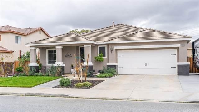 1289 Santa Paula Court, Beaumont, CA 92223 (#EV21232533) :: A|G Amaya Group Real Estate