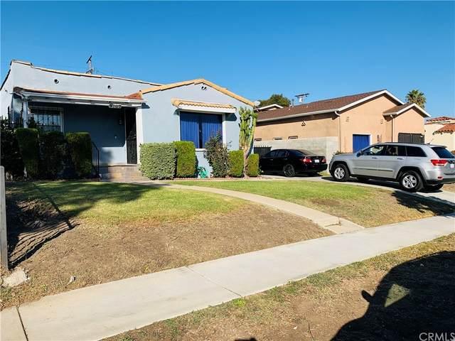9707 S Denker Avenue, Los Angeles (City), CA 90047 (#DW21231359) :: Latrice Deluna Homes
