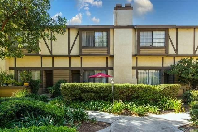 21225 Lassen Street #3, Chatsworth, CA 91311 (#SR21233112) :: A|G Amaya Group Real Estate
