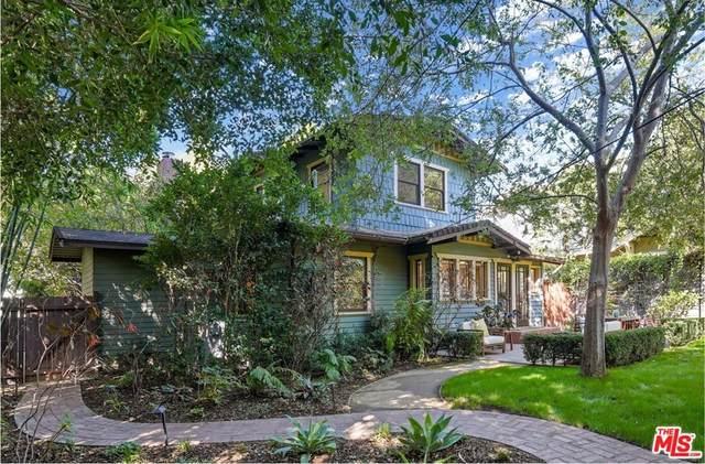 1924 Canyon Drive, Los Angeles (City), CA 90068 (#21797604) :: Mainstreet Realtors®