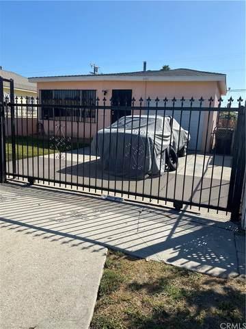 940 W 131st Street, Compton, CA 90222 (#PW21232986) :: Compass