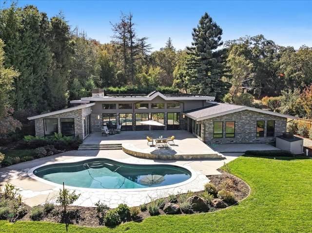 315 Grove Drive, Portola Valley, CA 94028 (#ML81867684) :: The Kohler Group
