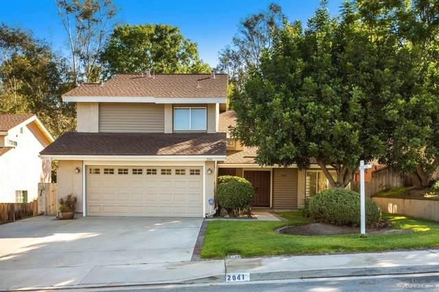 2041 Seca St, El Cajon, CA 92019 (#210029480) :: Blake Cory Home Selling Team