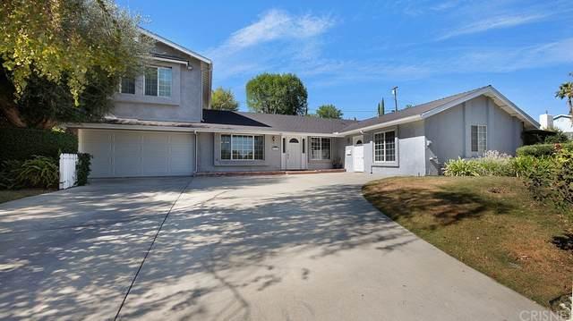 8361 Woodlake Avenue, West Hills, CA 91304 (#SR21232665) :: Cane Real Estate