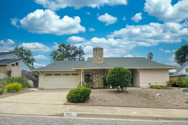 721 Overlook St, Escondido, CA 92027 (#210029501) :: Cane Real Estate