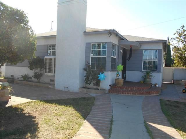 1101 S Temple Avenue, Compton, CA 90221 (#CV21233651) :: Compass