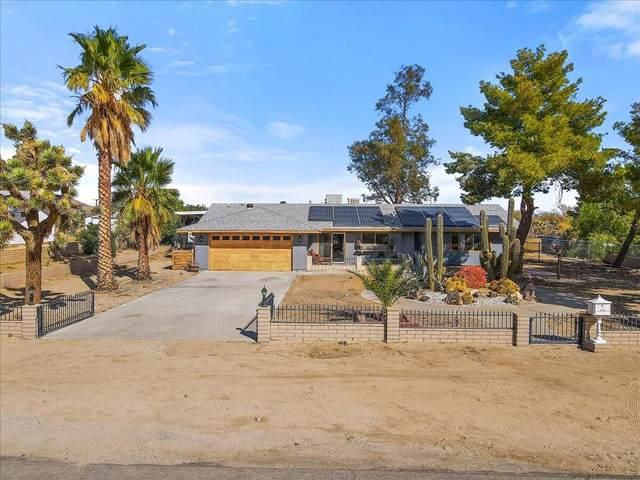 62146 Crestview Drive, Joshua Tree, CA 92252 (#219069327DA) :: Robyn Icenhower & Associates