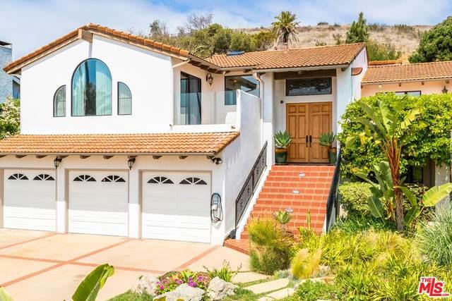 24743 Vantage Point Terrace, Malibu, CA 90265 (#21798040) :: Mint Real Estate