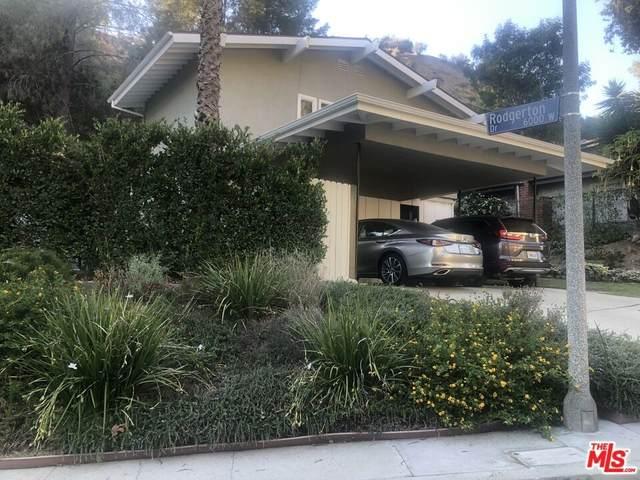 3101 N Beachwood Drive, Los Angeles (City), CA 90068 (#21796688) :: Realty ONE Group Empire