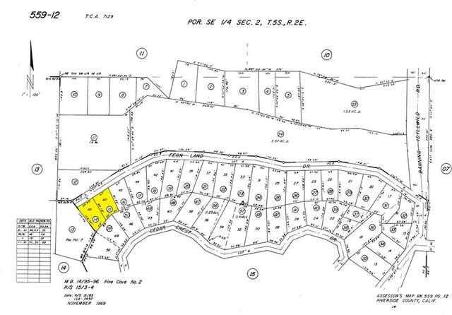 0 Cedar Crest Drive, Idyllwild, CA 92549 (#SW21233847) :: Randy Horowitz & Associates