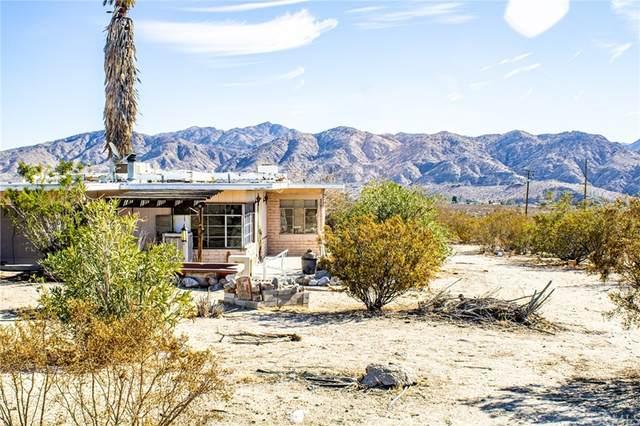 9417 Bella Vista Drive, Morongo Valley, CA 92256 (#JT21233749) :: Robyn Icenhower & Associates