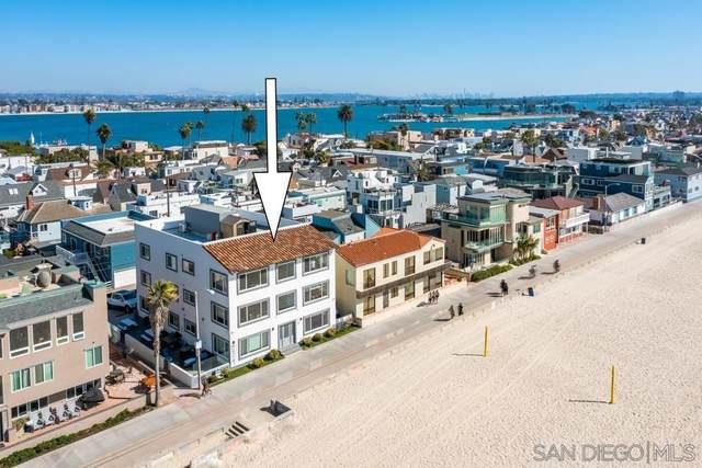 3969 Ocean Front Walk #3, San Diego, CA 92109 (#210029598) :: Bob Kelly Team