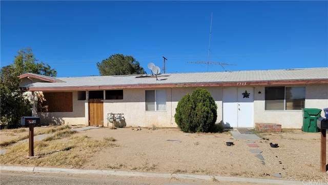 7731 & 7733 California City Boulevard, California City, CA 93505 (#CV21234350) :: The Marelly Group | Sentry Residential