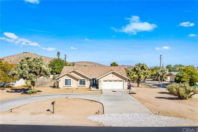 57966 Joshua Lane, Yucca Valley, CA 92284 (#OC21234235) :: Compass