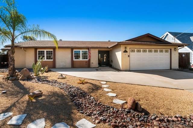 8657 Willow Ter, Santee, CA 92071 (#210029613) :: The Kohler Group
