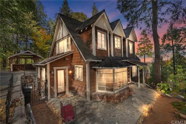 329 Summit Drive, Lake Arrowhead, CA 92352 (#EV21234427) :: The Miller Group