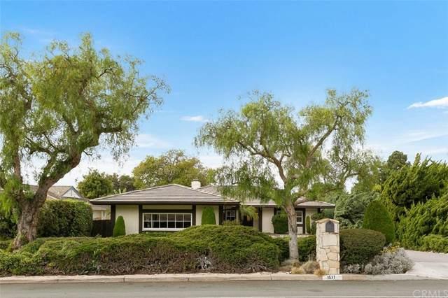 1537 Palos Verdes Drive W, Palos Verdes Estates, CA 90274 (#PV21224738) :: Millman Team
