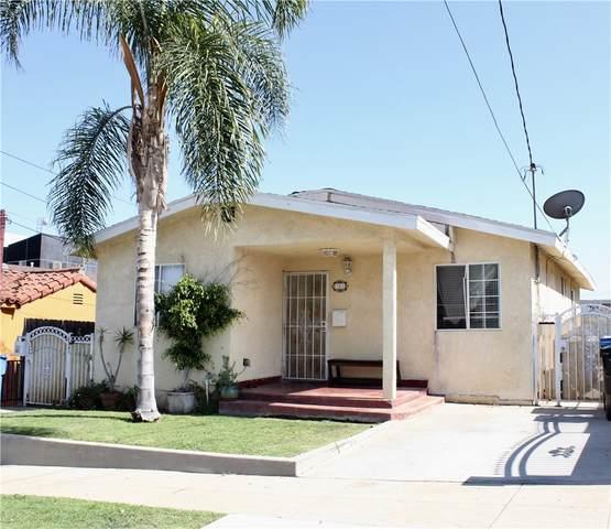 541 W 3rd Street, San Pedro, CA 90731 (#PW21163063) :: RE/MAX Empire Properties