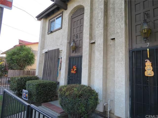1301 S Greenwood Avenue #1, Montebello, CA 90640 (#DW21234955) :: The Kohler Group