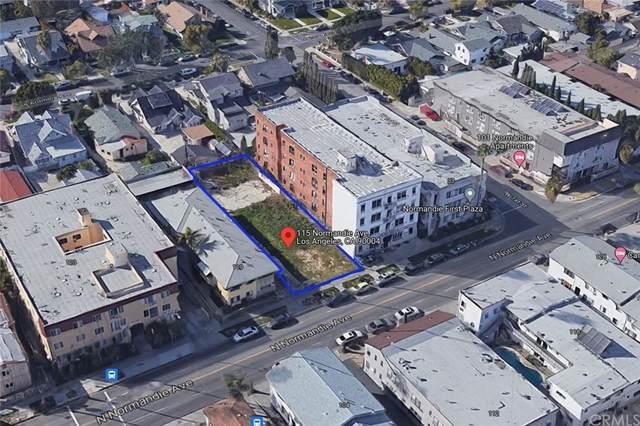 115 S Normandie Avenue, Los Angeles (City), CA 90004 (#OC21235047) :: Elevate Palm Springs
