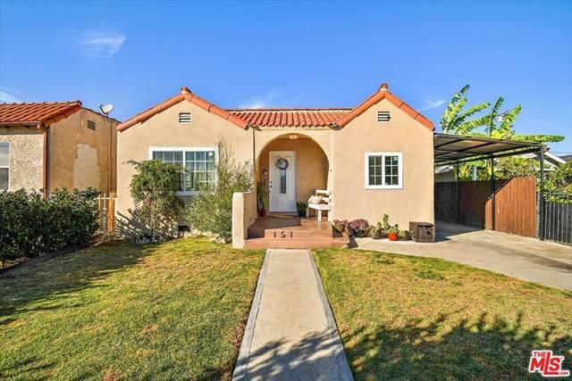 151 E 90Th Street, Los Angeles (City), CA 90003 (#21798146) :: Mainstreet Realtors®