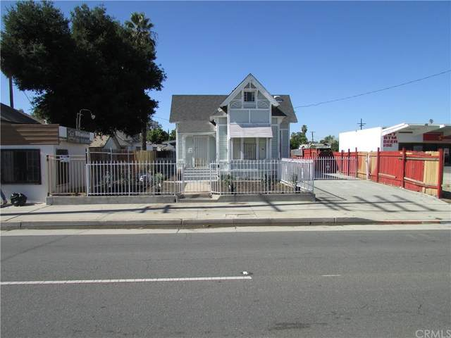 324 S Mount Vernon Avenue, San Bernardino, CA 92410 (MLS #IG21235440) :: The Zia Group